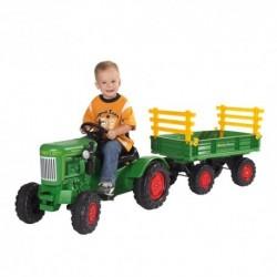 BIG detský šliapací traktor Fendt Dieselross zelený