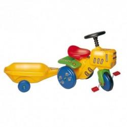 DOHÁNY detský záhradný traktor žltý