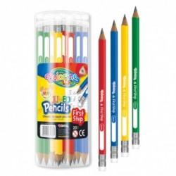Colorino Kids grafit ceruzka s gumou Jumbo 1 ks