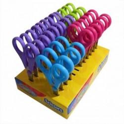 Colorino Kids detské nožnice 14 cm - fialové