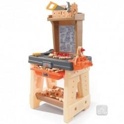 STEP2 Detský stolík s náradím Real Projects