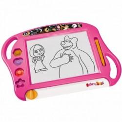 SIMBA Detská magnetická tabuľa na kreslenie Máša a Medveď