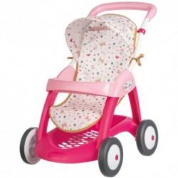 SMOBY detský športový kočík pre bábiku Baby Nurse Zlatá edícia