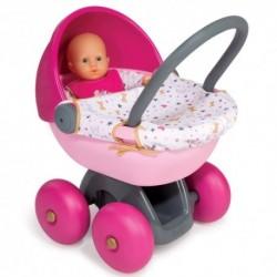 SMOBY Detský hlboký kočík pre bábiku Baby Nurse Gold