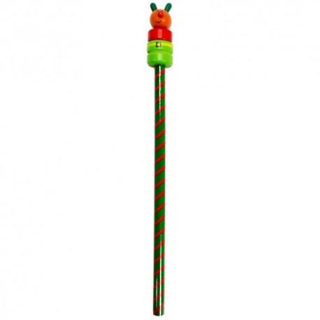 Drevená ceruzka - vianočná - Sob