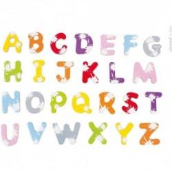 JANOD Drevené magnetky - Písmenká abecedy