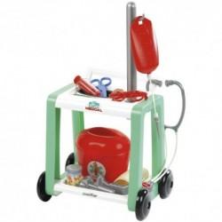 ÉCOIFFIER - Detský lekársky vozík s infúziou
