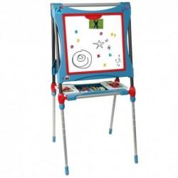SMOBY Obojstranná detská tabuľa - modro-červená