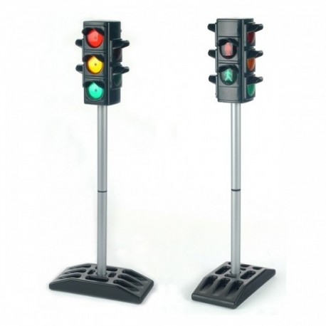 KLEIN Detský elektronický semafor s automatickým blikaním