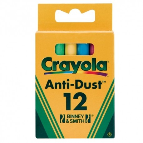 Crayola - farebné kriedy 12 ks