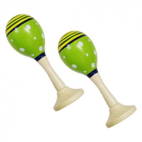 Rumbagule - maracas zelené - 1 pár