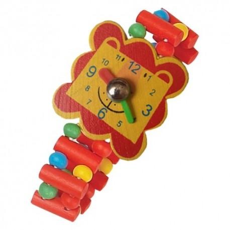 Detské drevené hodinky - levík