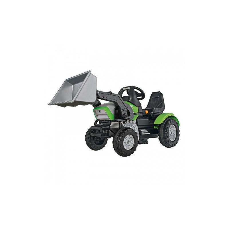 big detsk liapac traktor john xl s naklada om zelen. Black Bedroom Furniture Sets. Home Design Ideas