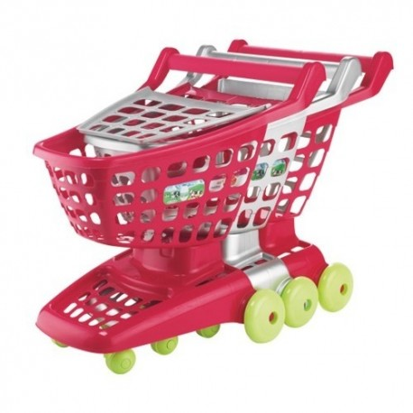 ÉCOIFFIER detský nákupný vozík na kolieskach PRO Cook Trolley - šedý 1 kus