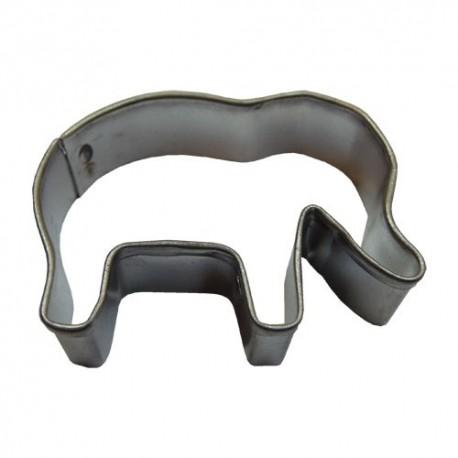 Formička na vykrajovanie cesta - sloník
