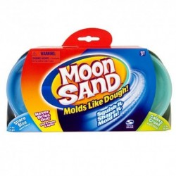 Moon Sand - náhradné balenie 50 dkg - modrá a zelená farba