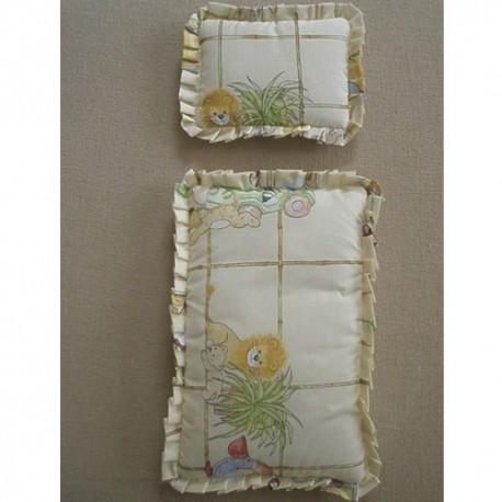 Textilný paplónik a vankúšik - malý set