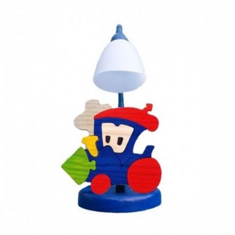 Detská stolná lampa - vláčik