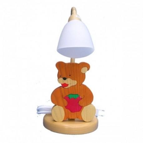 Detská stolná lampa - macko