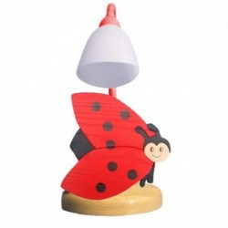 Detská stolná lampa - lienka