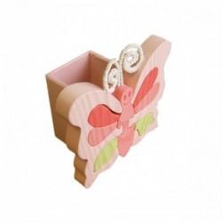 GABELIZ Stojan na ceruzky - Motýľ ružový