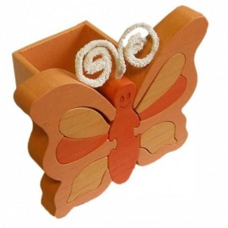 GABELIZ Stojan na ceruzky - Motýľ oranžový