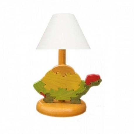 Detská nočná lampa - korytnačka oranžová