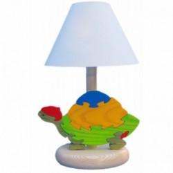 Detská nočná lampa - korytnačka modrá