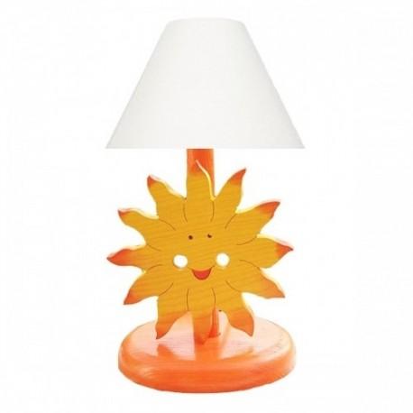 Detská nočná lampa - slniečko