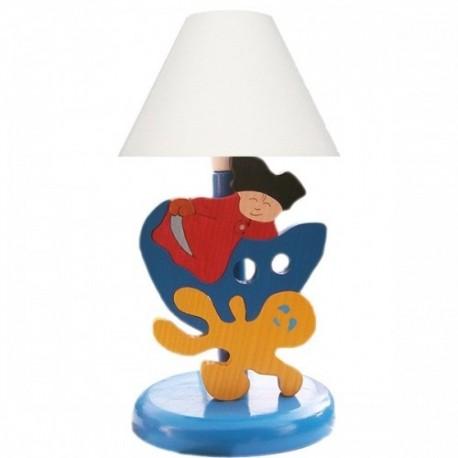 Detská nočná lampa - pirát