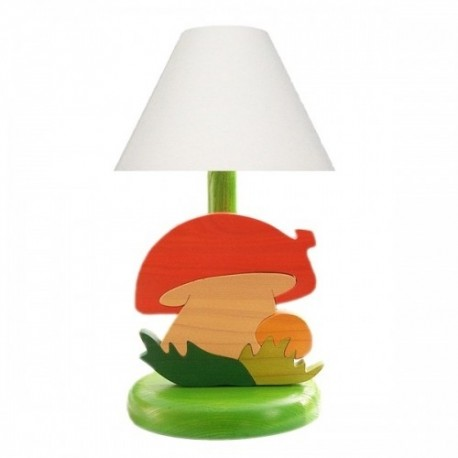 Detská nočná lampa - hríbik