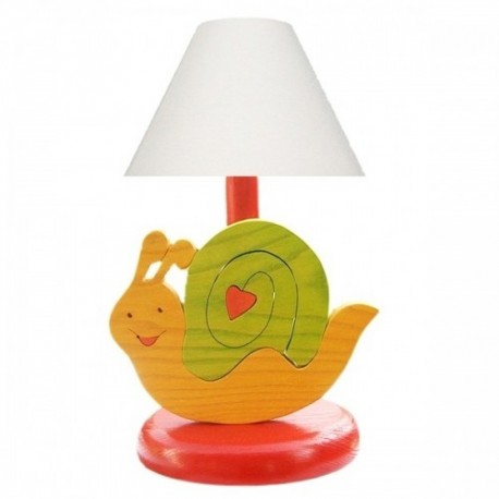 Detská nočná lampa - slimáčik