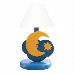 Detská nočná lampa - mesiačik