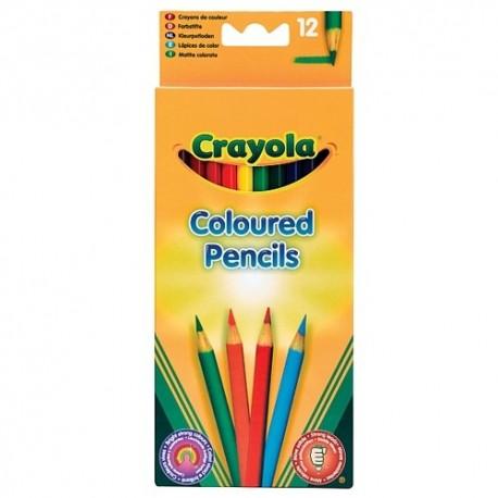 Crayola - mini farebné ceruzky 12 ks