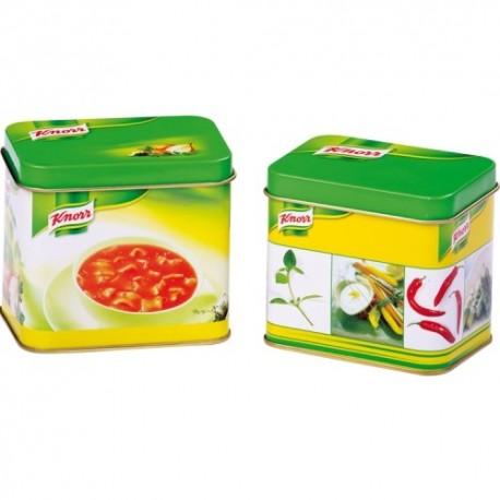 Detské plechové krabičky Knorr - 2 kusy