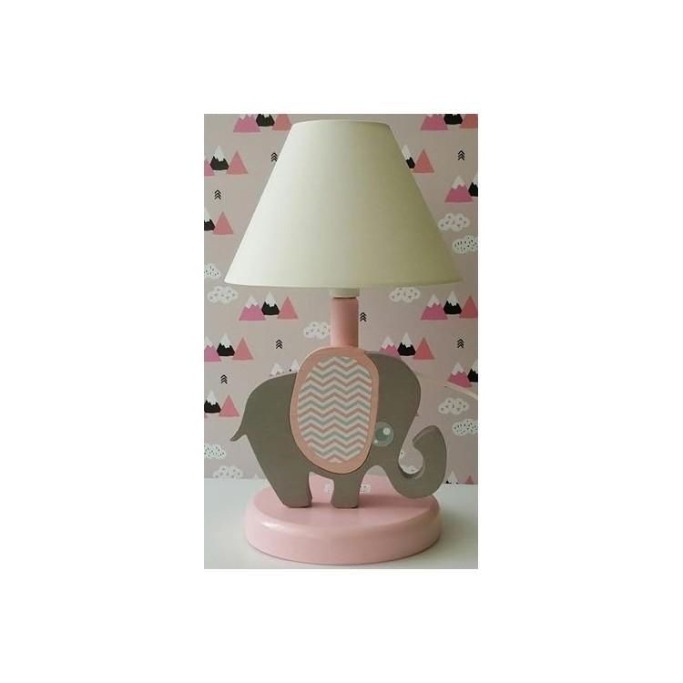 6b036b4a4 Detská nočná lampa - sloník ružový - Najhracky.sk