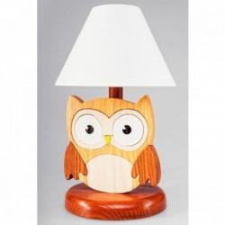 Detská nočná lampa - sova hnedá