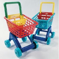Dohány Detský nákupný vozík - modrý 5022