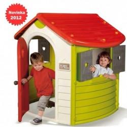 SMOBY Detský záhradný domček Jura Lodge NEW 2012