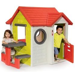SMOBY Detský záhradný domček My House 2017 s piknikovým stolíkom