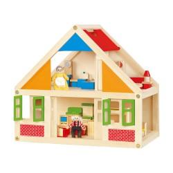 Viga Drevený domček pre bábiky - malý