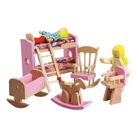 IMP-EX Nábytok do domčeka pre bábiky - Detská izba