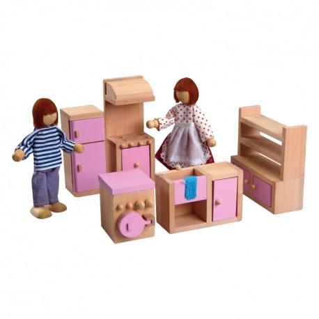 IMP-EX Nábytok do domčeka pre bábiky - Kuchyňa