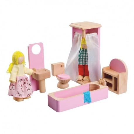 IMP-EX Nábytok do domčeka pre bábiky - Kúpeľňa