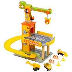 Mentari Drevená garáž - so žeriavom