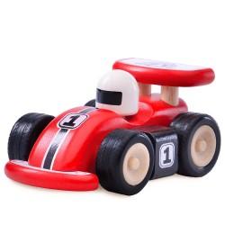 Wonderworld Drevené autíčko - Formula F1