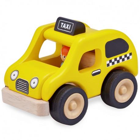 Wonderworld Drevené autíčko - Taxi