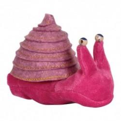 Prstová plyšová maňuška - Slimáčik ružový