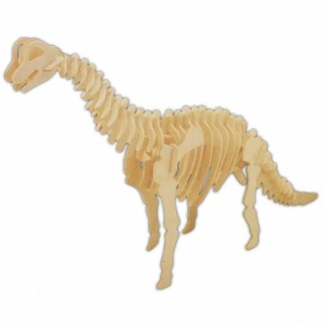 Drevený model natur - Brachiosaurus