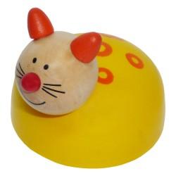IMP-EX Drevená hračka na zotrvačník - Mačička